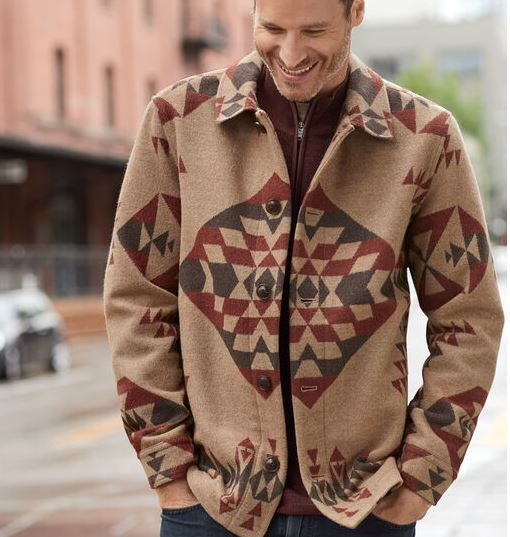 Pendleton® Men's Wool Jacket, Basket Maker