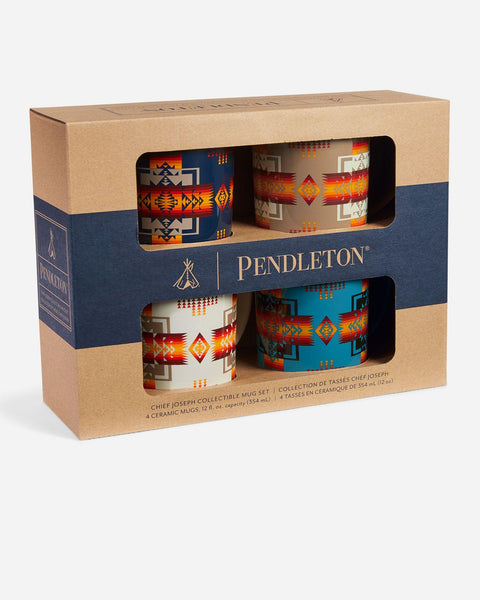 Pendleton® Chief Joseph Mugs, Set of 4