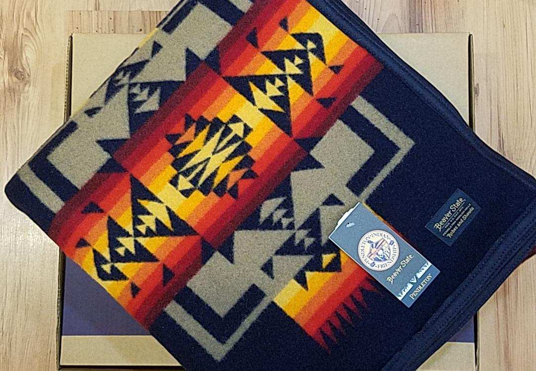 Pendleton® Chief Joseph  Blanket, Indigo