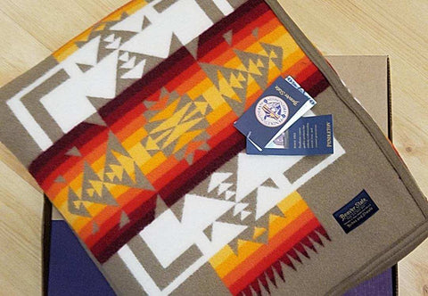Pendleton® Chief Joseph Blanket, Khaki