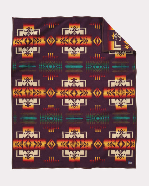 Pendleton® Chief Joseph Blanket, Maroon