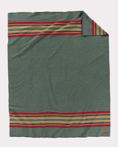 Pendleton® Yakima Camp Blanket, Green Heather
