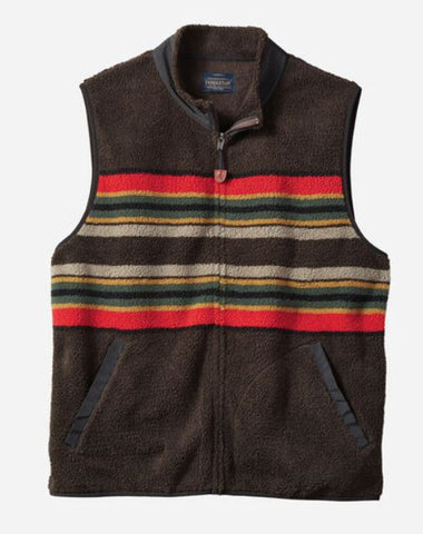 Pendleton® Fleece Vest, Camp Stripe