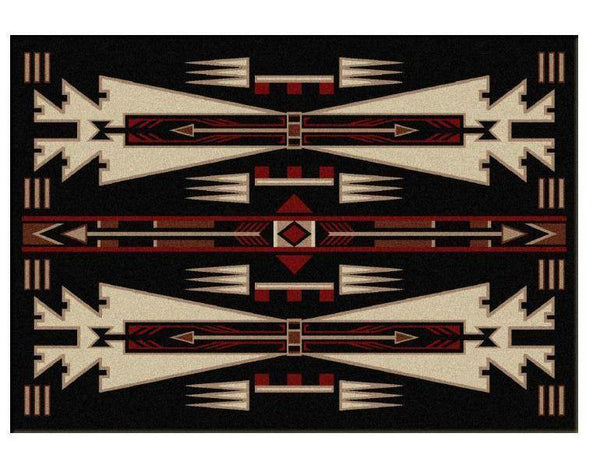American Dakota, Horse Thieves, Black Rug