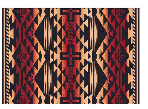 American Dakota, Rustic Cross Rug