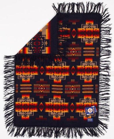 Pendleton® Chief Joseph Baby Blanket Shawl Collection, Indigo