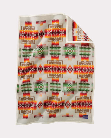 Pendleton® Chief Joseph Baby Blanket Collection, Ivory
