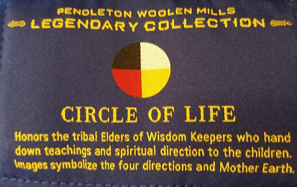 Pendleton®Elders Circle of Life Blanket
