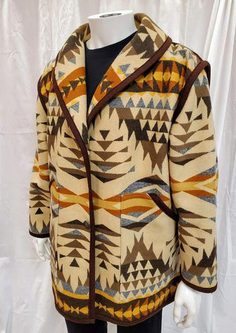 Kraff's Reversible Car Coat, Diamond Desert