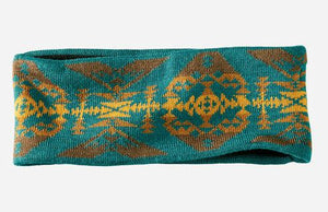 Pendleton® Fleece Lined Headband, Diamond Peak, Turquoise