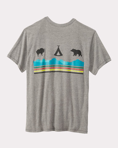 Pendleton® Glacier National Park Tee, Grey Glacier