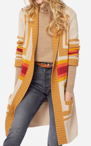 Women's Pendleton Made Open Cardigan, Harding