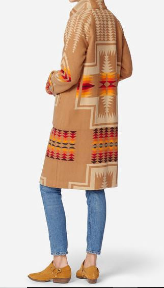 Pendleton Long coat, Harding archive