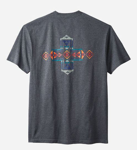Pendleton Men's Graphic Tee, Horizon Cross