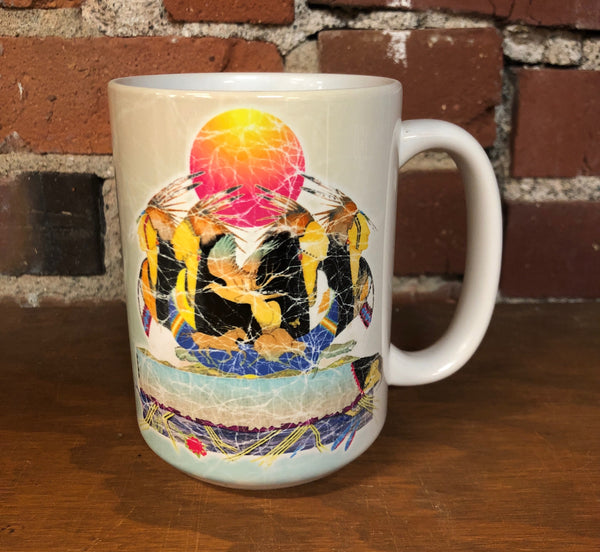 The Mountain Ceramic Coffee Mug, Rejuvinate Mother Earth