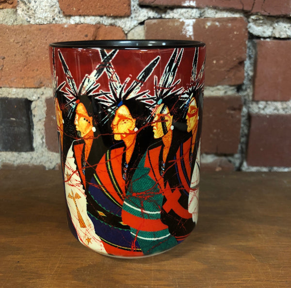 The Mountain Ceramic Coffee Mug, New Meet Clan Seekers
