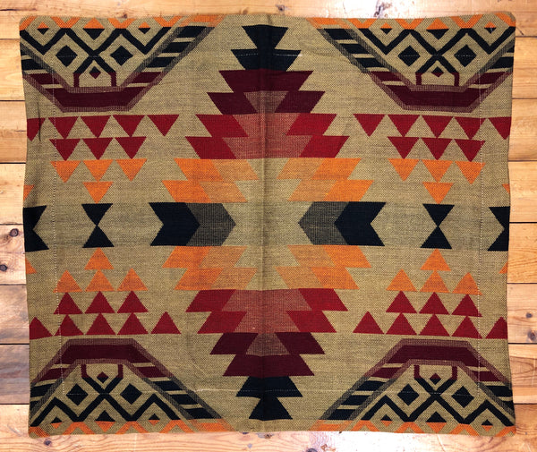 Pillow Sham, Tribal, Tan
