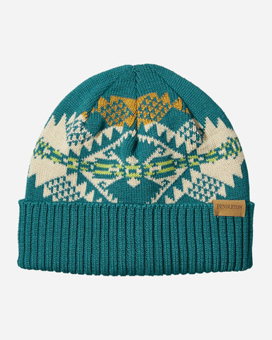Pendleton© Knit Cap, Journey West Turquoise
