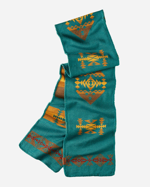 Pendleton® Knit Scarf, Diamond Peak Turquoise