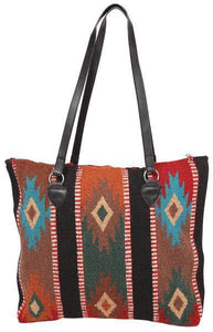 Maya Modern Purse, Style C, Black Stripe Multi-Color - Kraffs Clothing