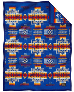 Pendleton® Chief Joseph Baby Blanket Collection, Blue