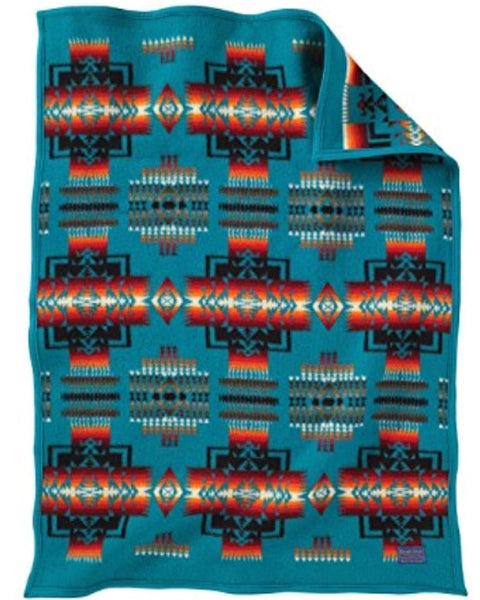 Pendleton® Chief Joseph Baby Blanket Collection, Turquoise