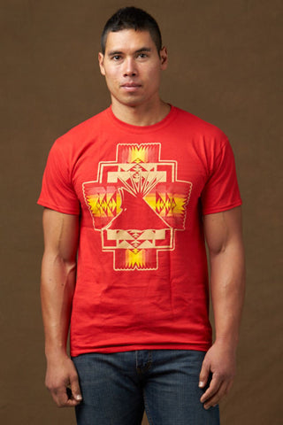 NEW!!! Kraff's Native Style Tees, Red