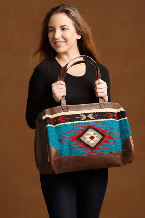Native Inspired Duffle Bag, Diamond