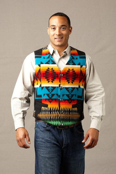 Native Vest, Chief Joseph Black