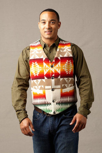 Native Vest Chief Joseph Ivory Kraffs Clothing