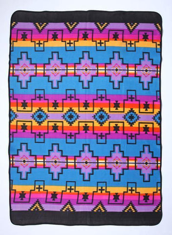El Paso Lodge Fleece Blanket # 1-C