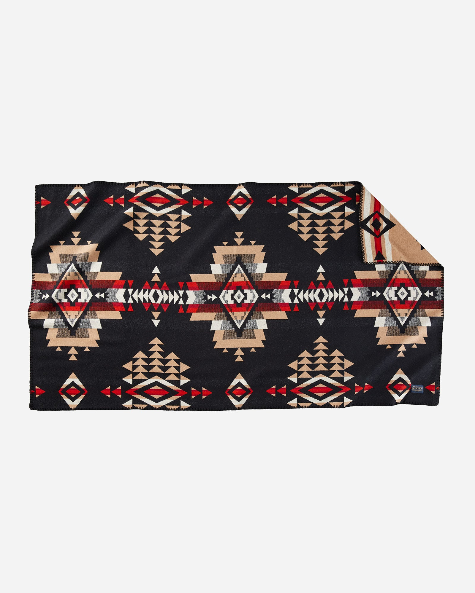 Pendleton® Saddle Blanket, Rock Point, Black