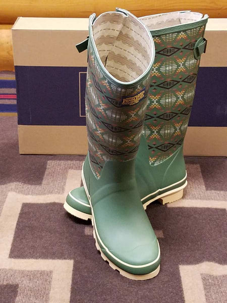 Pendleton Diamond River Tall Rain Boots