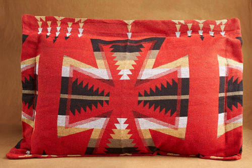 Pillow Sham, Crosses, Cardinal