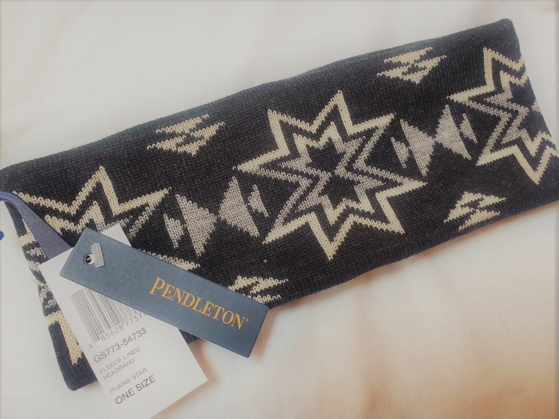 Pendleton® Fleece Lined Headband, Plains Star