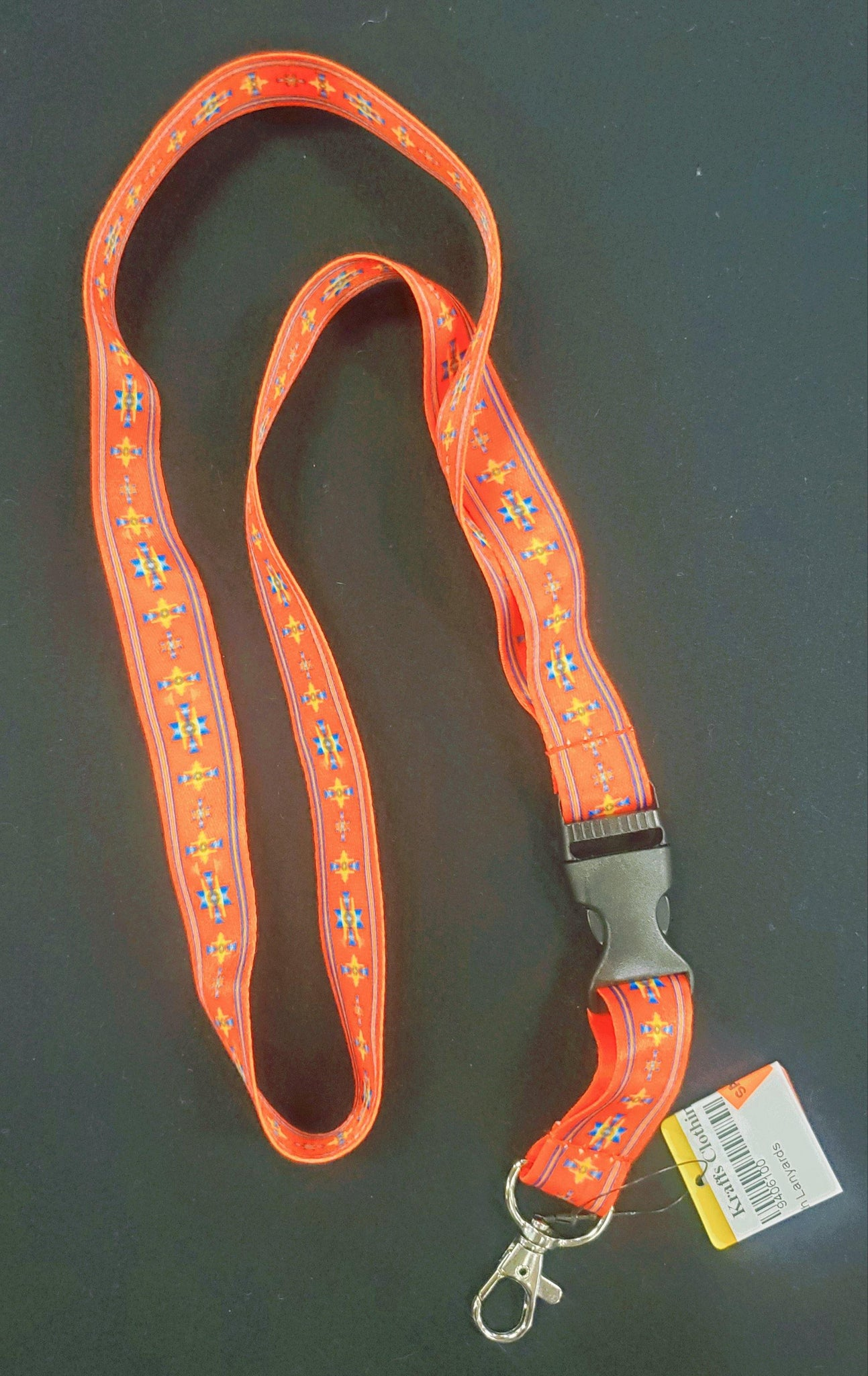 Native Style Lanyard, Red