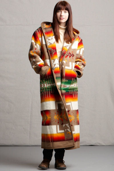 Reversible Long Coat, Chief Joseph, Khaki_2
