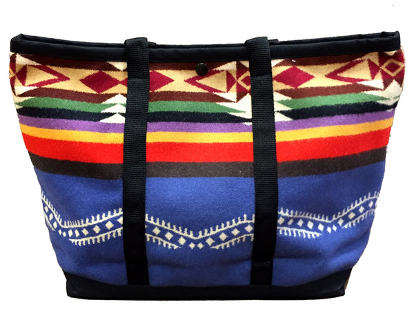 Shopping Bag, Saddle Bag, Made with Pendleton® Fabric