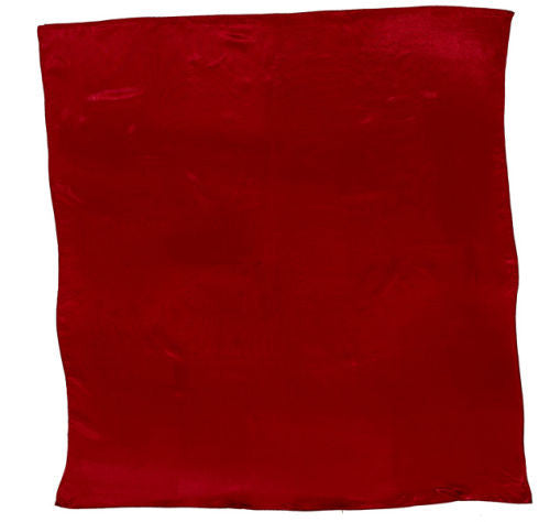Sateen Regalia Scarf, Crimson