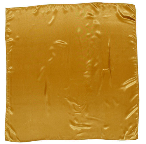 Sateen Regalia Scarf, Gold