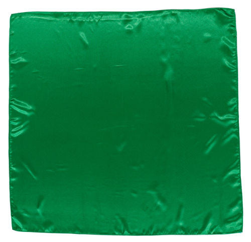 Sateen Regalia Scarf, Kelly Green