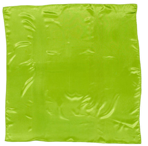 Sateen Regalia Scarf, Lime