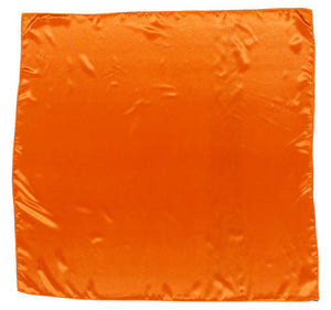 Sateen Regalia Scarf, Orange