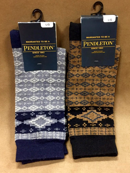 Pendleton® Socks, Fair Isle Crew Medium