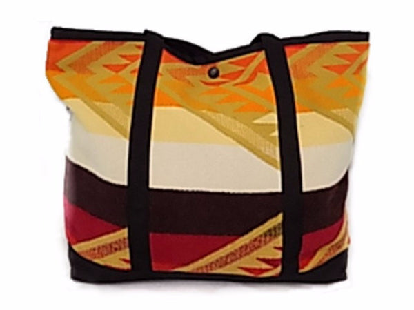 Shopping Bag, Spirit Guide, Made with Pendleton® Fabric