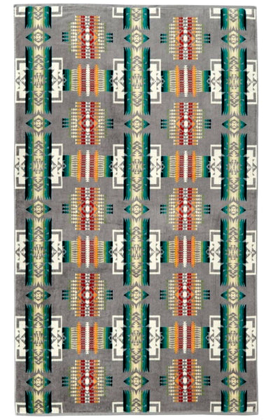 Pendleton® Spa Towel, Chief Joseph Jacquard Grey