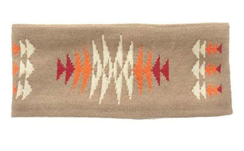Pendleton® Fleece Lined Headband, Tucson Khaki