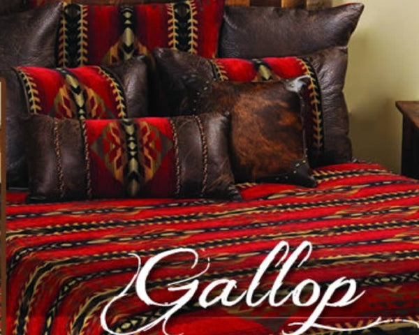 Wooded River Gallop Bedspread