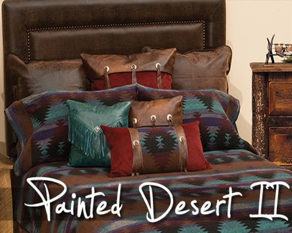 Wooded River Painted Desert II Bedspread 88 In.x 90 In.