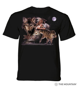 The Mountain Unisex Tee, Arapaho Wolf Moon